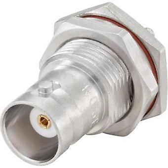 BNC connector Socket, vertical vertical 50 Ω Rosenberger 51K607-802N5 1 pc(s)