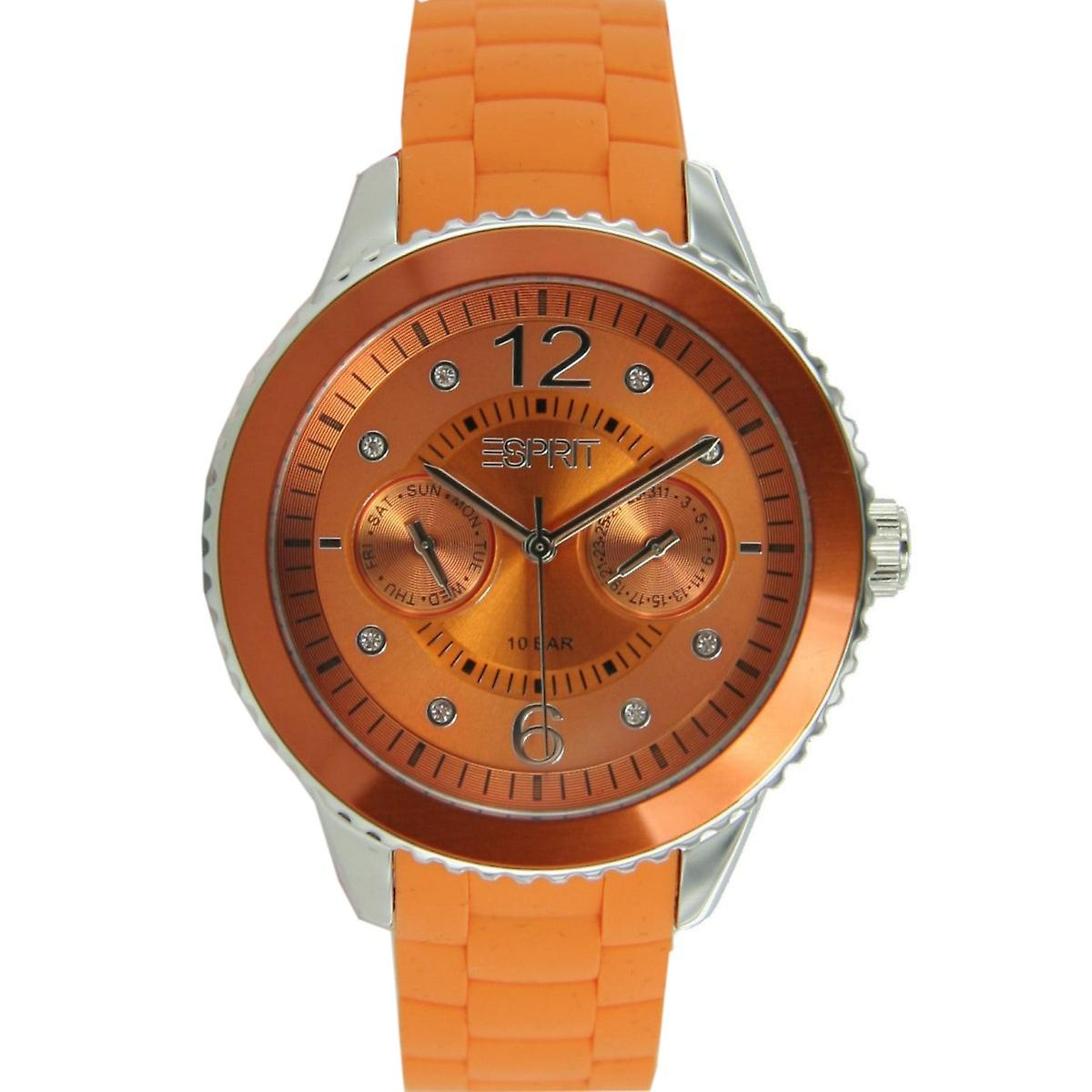 ESPRIT ladies watch Marin 68 speed Orange ES105332005