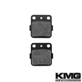 KMG 1992-1994 Husqvarna TC 610 Rear Non-Metallic Organic NAO Disc Brake Pads Set