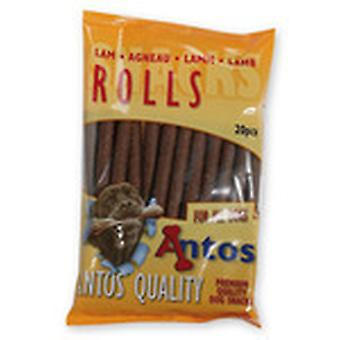 Antos lammekød ruller 200g (pakke med 14)