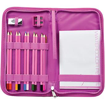 Keep N'Carry Art Set-Watercolor Pencils PA-KCWPS