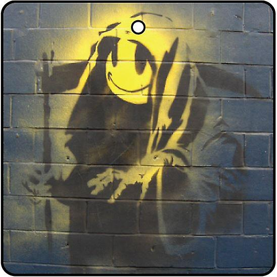 Banksy Grin Reaper Car Air Freshener