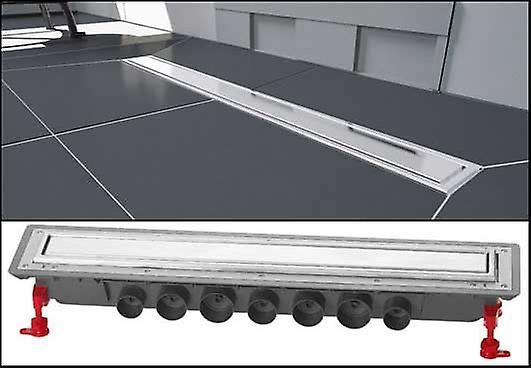 Afvoer Douche Herstellen : Wirquin wetroom badkamer vloer lineaire douche afvoer cm