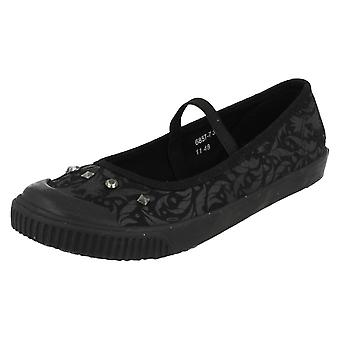 Girls Startrite Angry Angels Casual Flat Pumps Chic