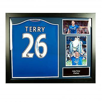 Chelsea Terry Signed Shirt (Framed)