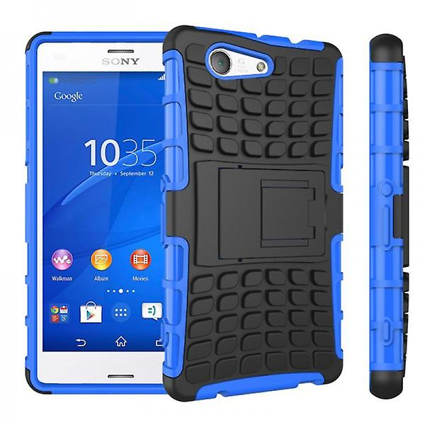 Hybrid Case 2teilig Robot blue for Sony Xperia Z3 Compact D5803 M55W