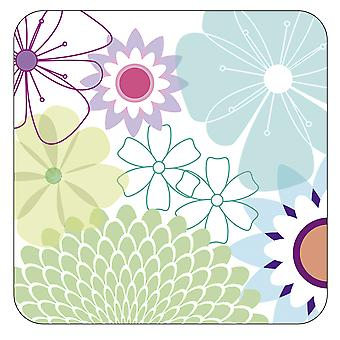 Pimpernel Crazy Daisy Coasters, Set of 6
