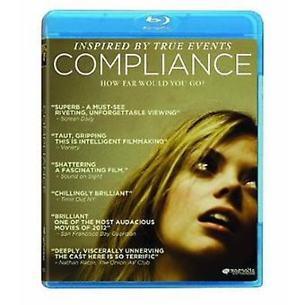 Compliance [BLU-RAY] USA import