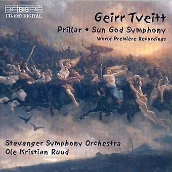 G. Tveitt - Geirr Tveitt: Prillar; Solguden symfoni [CD] USA importerer