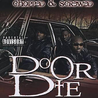 Do or Die - D.O.D.-Chopped & Screwed [CD] USA import