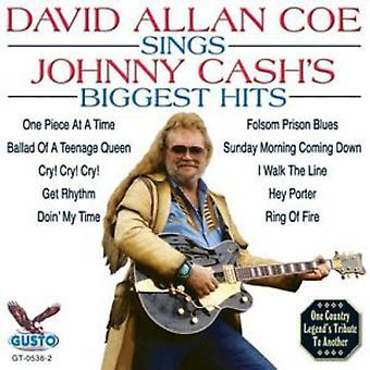 David Allan Coe - importación de Estados Unidos mayores éxitos [CD] de canta Johnny Cash