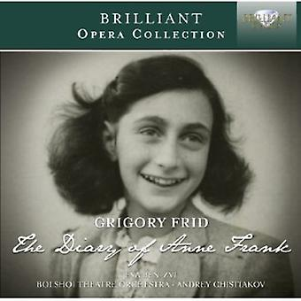 Frid - Grigory Frid: The Diary of Anne  Frank [CD] USA import