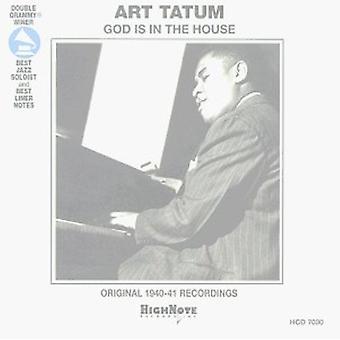 Art Tatum - Gud er i hus [CD] USA importen