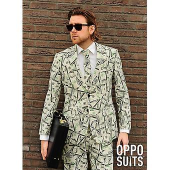 Dollaranzug Cashanova Anzug Slimline Herren 3-teilig Premium EU SIZES