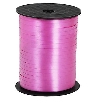 TRIXES 500 Metre Pink Satin Balloon Ribbon