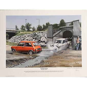 Robert Tomlin Mini Italian Job Tunnel Vision By Robert Tomlin