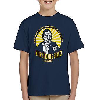 Micks Boxing School Rocky Kid's T-Shirt