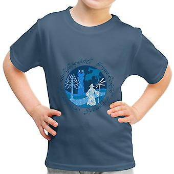 Lord Of The Rings Gandalf A Wise Man's Journey Kid's T-Shirt
