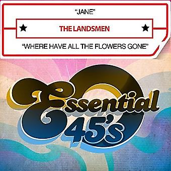 Landsmen - Jane / Where Have All Flowers Gone [CD] USA import