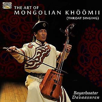 Ylenia dimartino - arte del mongolo Khoomii (canto gutturale) [CD] USA importare