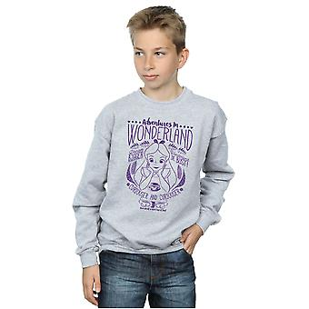 Disney Boys Alice In Wonderland Adventures Sweatshirt