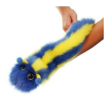 The Puppet Company Caterpillar Puppets Fingers Blue And Yellow