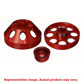 Torque Solution Lightweight Pulley TS-GEN-006R Red Fits:HYUNDAI 2010 - 2015 GEN