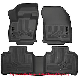 Husky Liners Floor Mats - WeatherBeater 99311 Black Fits:LINCOLN 2016 - 2016 MK