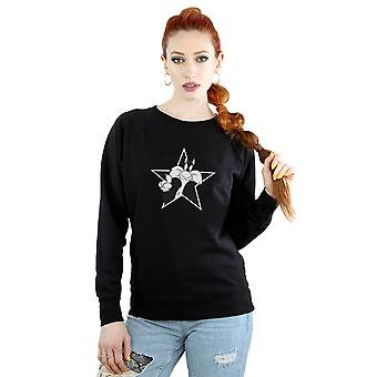 Looney Tunes Women's Sylvester Mono Star Sweatshirt