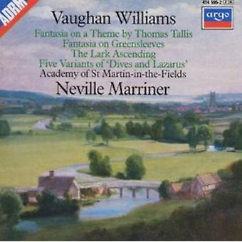 Williams: Greensleeves / Tallis / Lærke af Neville Marriner