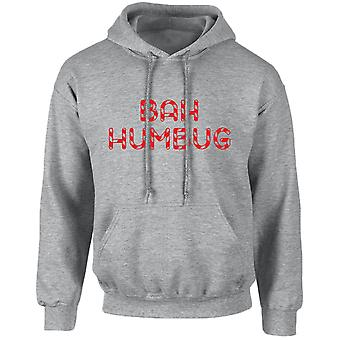 Bah Humbug Christmas Xmas Unisex Hoodie 10 Colours (S-5XL) by swagwear