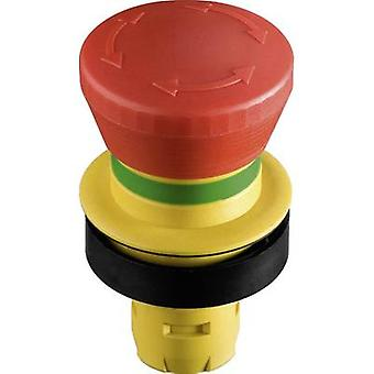 EPO switch tamperproof Red, Yellow Turn