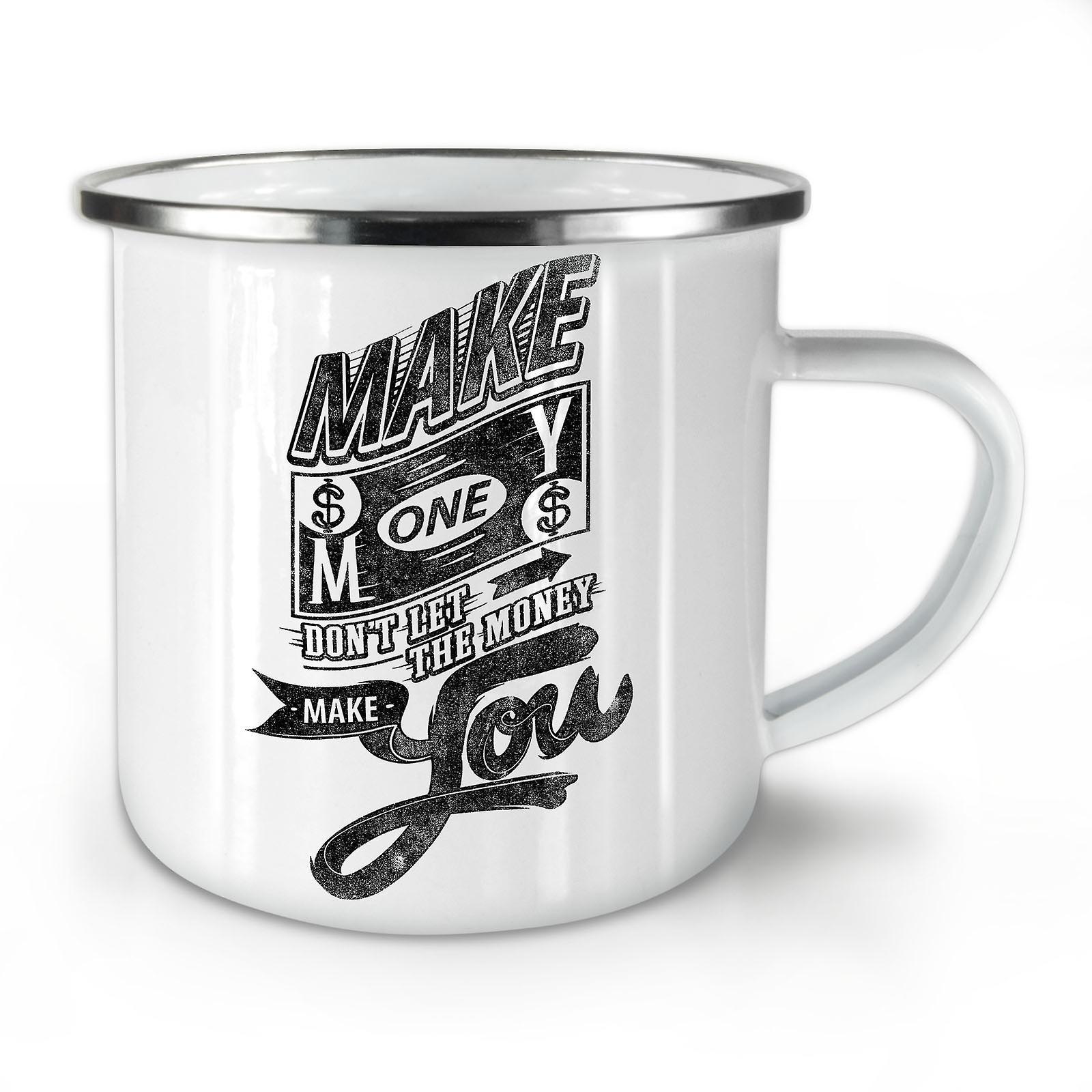 Faire D'argent Mug10 Nouveau Émail Le Dollar Whitetea Café OzWellcoda yv8mNn0wO