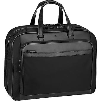 MONTBLANC men's 116773BLACK black polyester bag