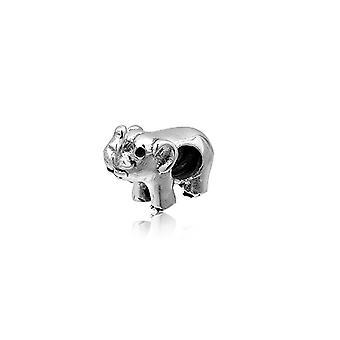 925 charms srebrny koralik słoń