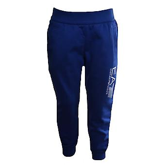 EA7 Boys EA7 Kids Blue Jogging Bottoms