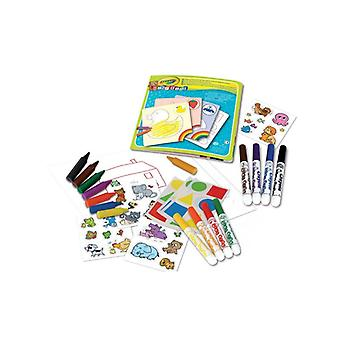 Paint and stickers Kit CRAYOLA 28/fp