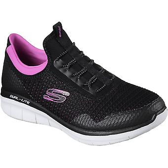 Skechers Womens/Ladies Synergy 2.0 Mirror Image Sports Trainers Shoes
