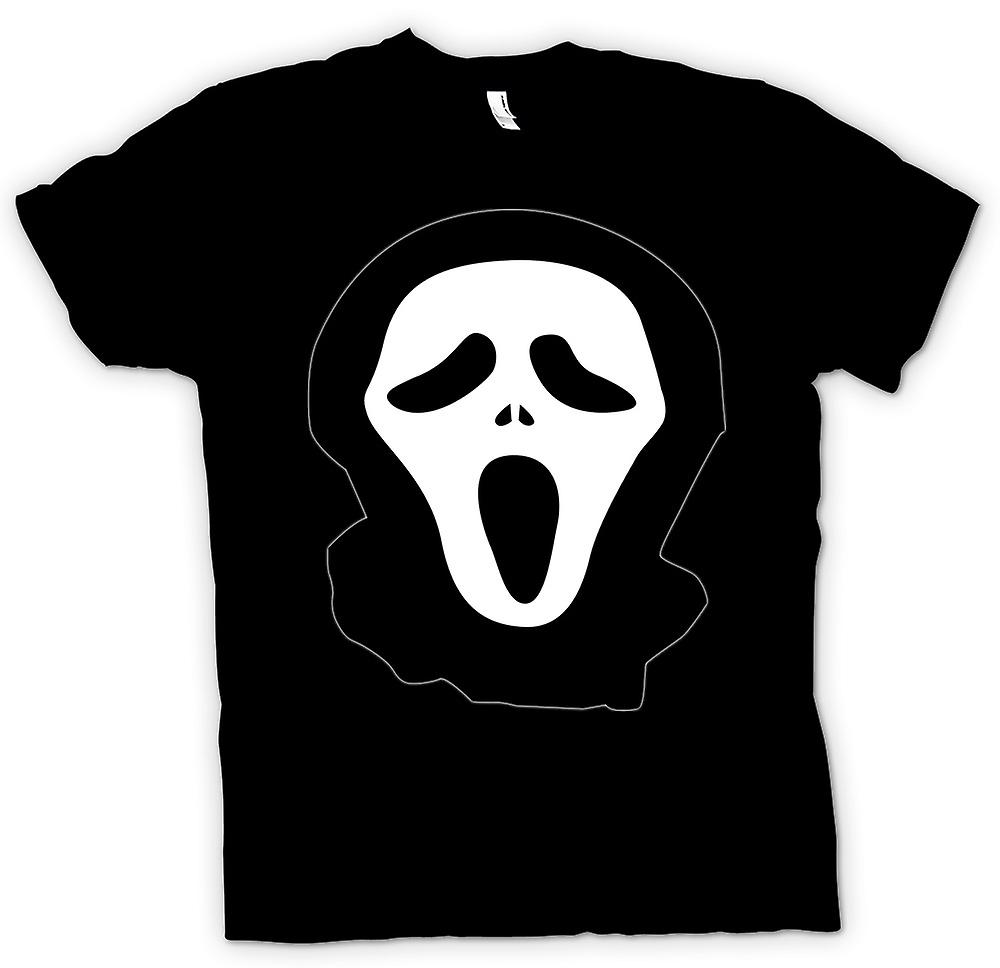 Womens T-shirt - Scream - Funny - kult - skräck