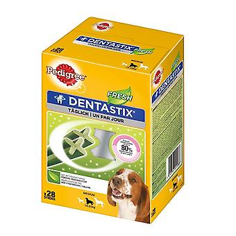 Pedigree Dentastix Fresh hond behandelt - Medium 28 Sticks