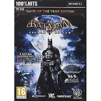 Batman Arkham asyl Goty (PC DVD)