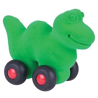 Rubbabu Aniwheelies Snake (Green)