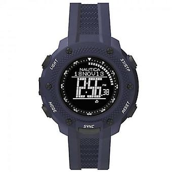 Nautica mens watch wristwatch of digital NAI19524G silicone