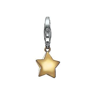 ESPRIT pendant of charms silver Golden Star ESCH91187A000