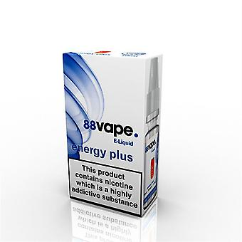 88 Vape E-flytande nikotin 11mg energi Plus 10ML
