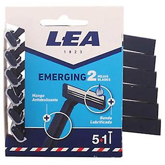 Lea Disposable razor two cutting edges 6 Units