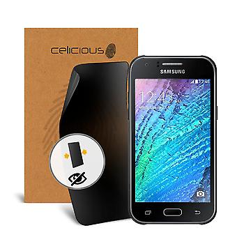 Celicious Privacy 2-Way Visual Black Out Screen Protector for Samsung Galaxy J1 Mini Prime