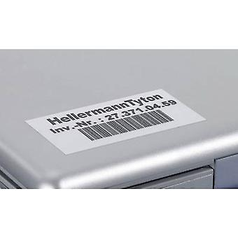 Cable identifier Helatag 25.4 x 8.5 mm Label colour: Silver HellermannTyton 594-01103 TAG155LA4-1103-SR No. of labels: 5