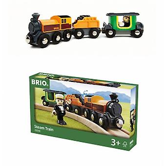Brio Steam locomotive with passenger-33036