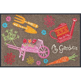 wash + dry my garden 50 x 75 cm washable floor mat